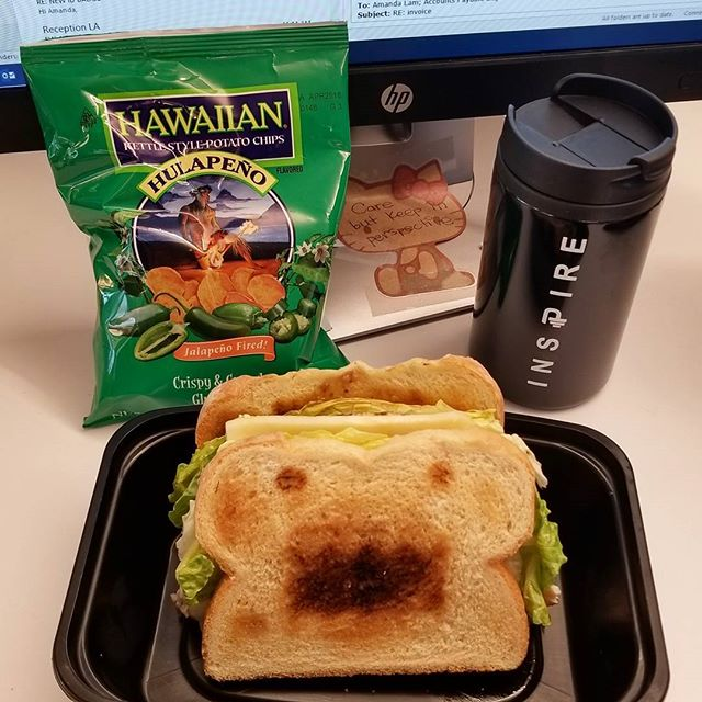 710 calorie Domo meal, thanks to @peetfit 's meal prep genie @jinnjuicz 《Such a yummy and healthy lunch.. i feel the calories and fitness inn my body now. Lol》 😀 #Pandasadventures