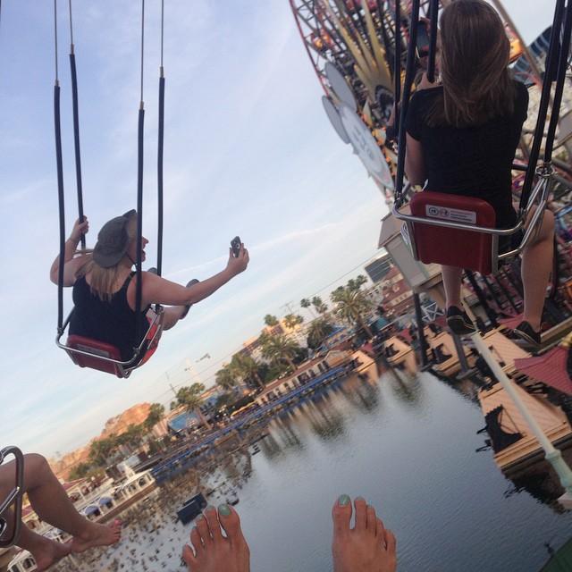 Cuz we silly! #selfie #barefoot #caliadventure