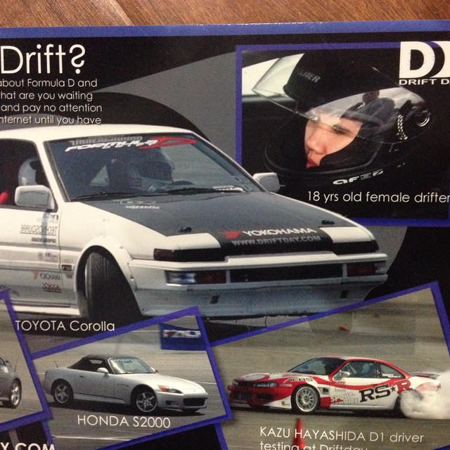 """10 years ago when I first started drifting!! Wow!!! 🚘 Back when I was """"fun""""."""
