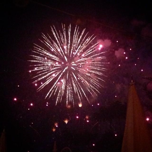 Yay... Monday #fireworks