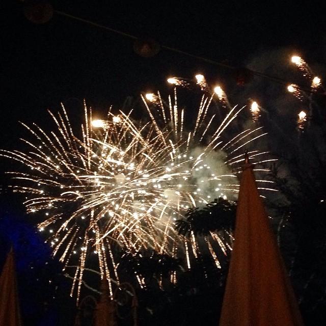 #Disneyland darling you're a firework