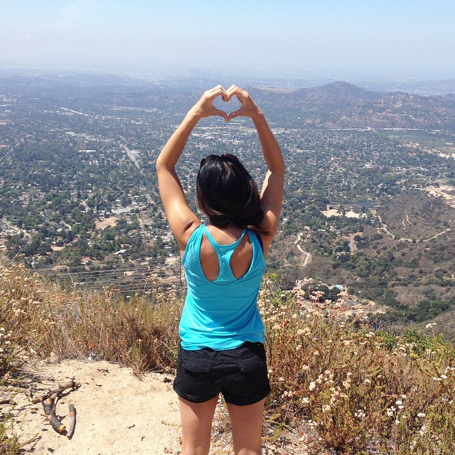 Started from the bottom and now we're here! #hiking #nature #topofthemountain