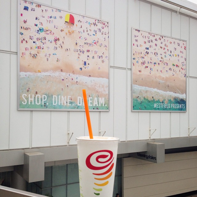 It is nice sipping on a @jambajuice  mango-a-go go at the @westfieldcc mall and all BUT it would be even better if it were my first time doing this in Jamaica #jambainjamaica