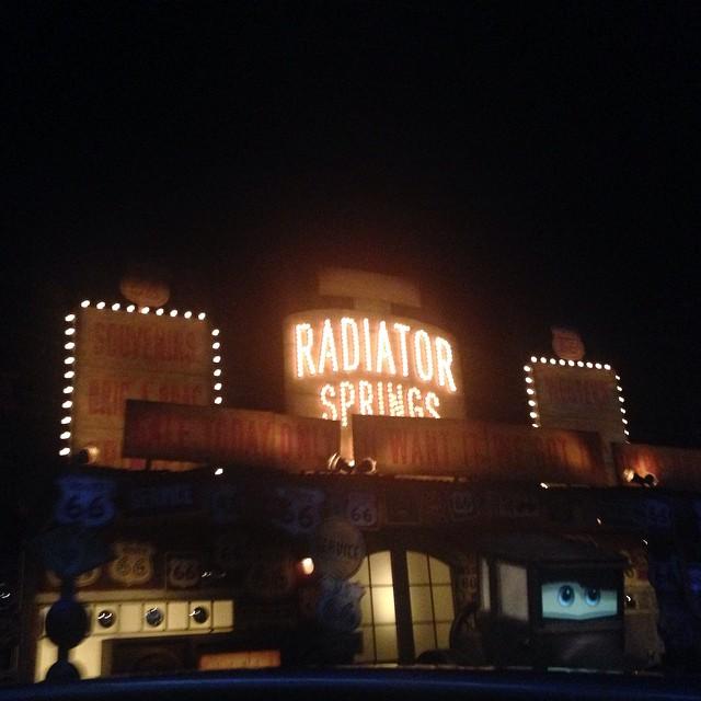 Buh bye #radiatorsprings 🚘