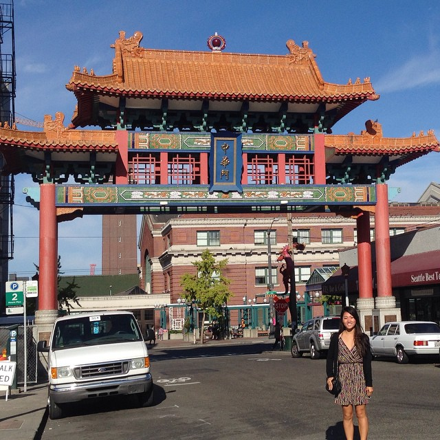 I so #fob ! 🚣 Welcome to Seattle Chinatown! Oh welcome to the US! Total #chinese #tourist #iasianandiproud  #flomanda