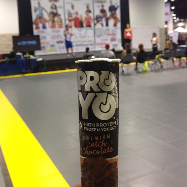 So you're saying i can have my bro-tein... Ahem protein in my chocolate ice cream!  Hell yeah!