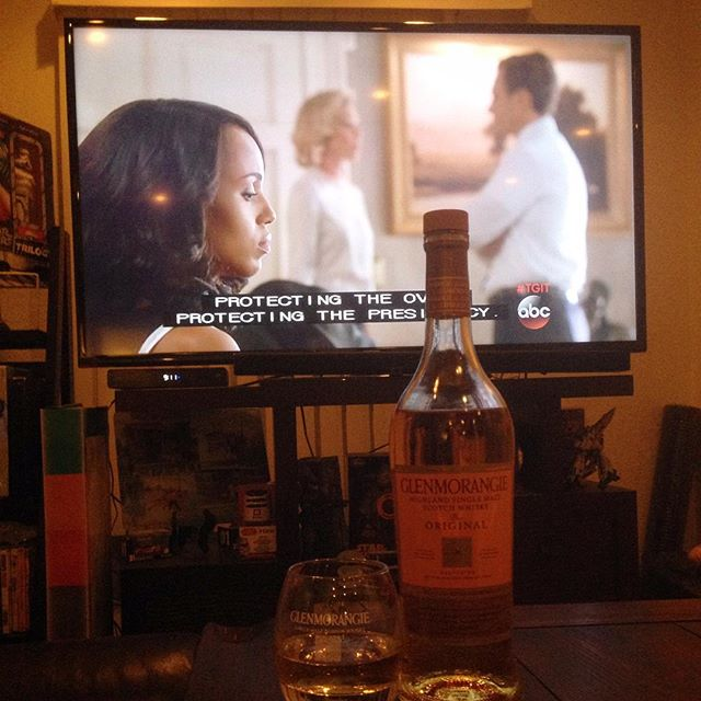 Celebrating #tgif on ABC! Cheers  to some Glenmorangie! Not drinking alone.. The dogs are here too!