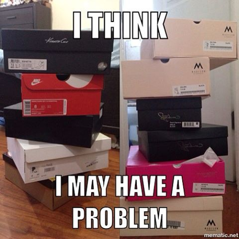 Lawd jesus!  I may have a #shoe  problem. Getting my shoe game on point!