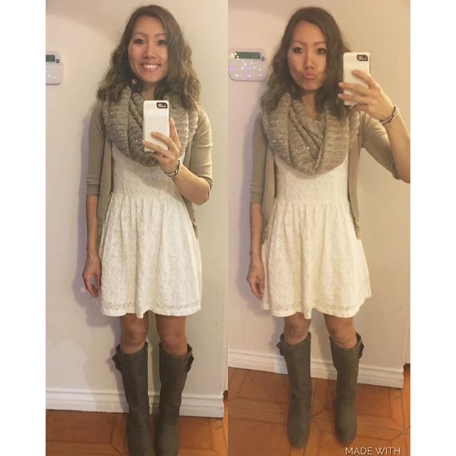 I liked my #ootd today! Trying to be cute ain't easy or cheap! It's a tough job... No lie! 🏽🏽 #fashion