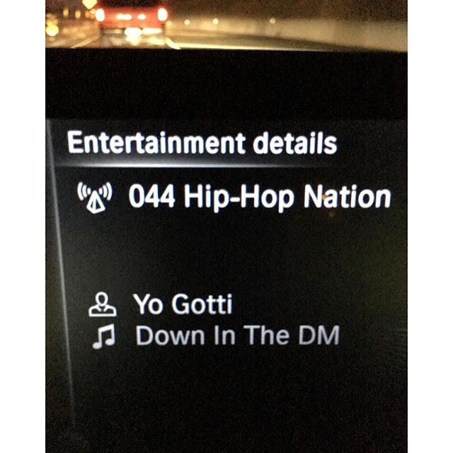 Last night while I wanted to do illegal stuff while driving. Hey, I wasn't texting only taking a picture. So serious question I was asking my coworkers yesterday about this song. What does down in the DM mean? Does DM = Direct Message ? I am horrible with all this urban lingo. 🏿🖖🏿🏿