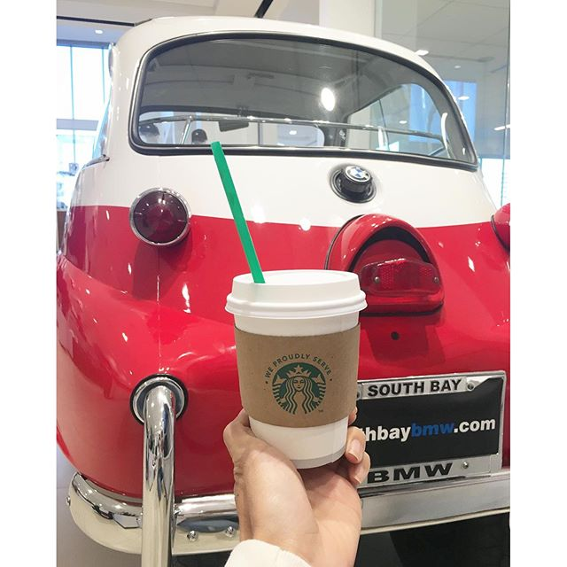 Starting my day off right! #BMW #coffee 🏎️