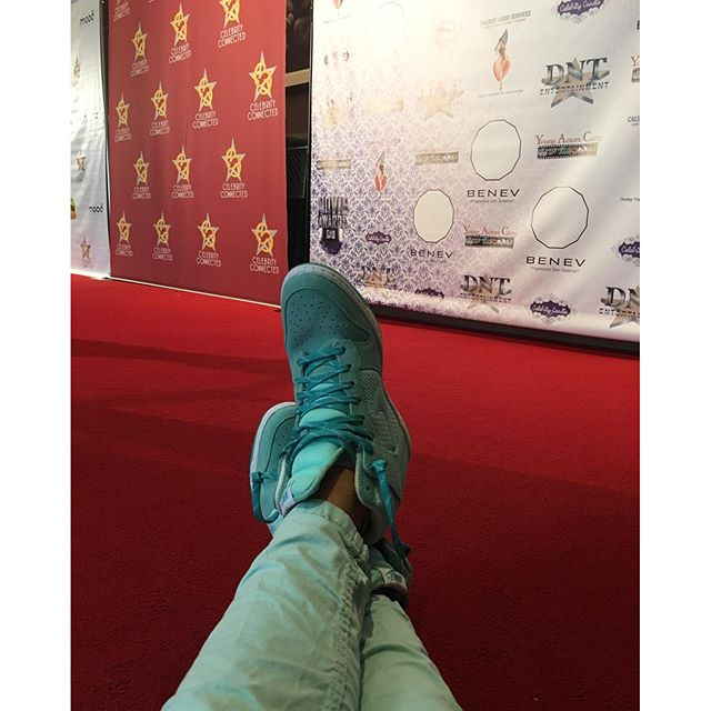 When your shoes are red carpet ready!
