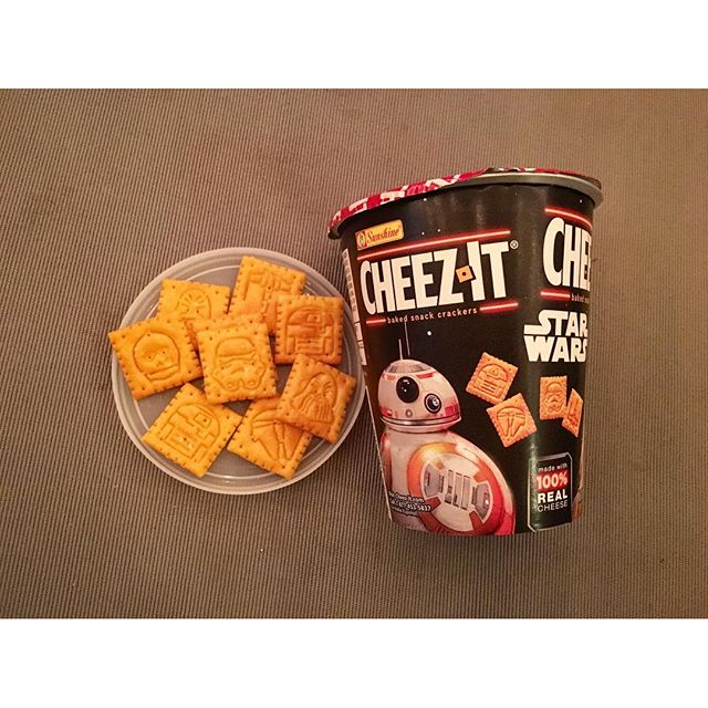 The secret fatty inside of me has to BUY these super cute #starwars Cheez It! #foodies