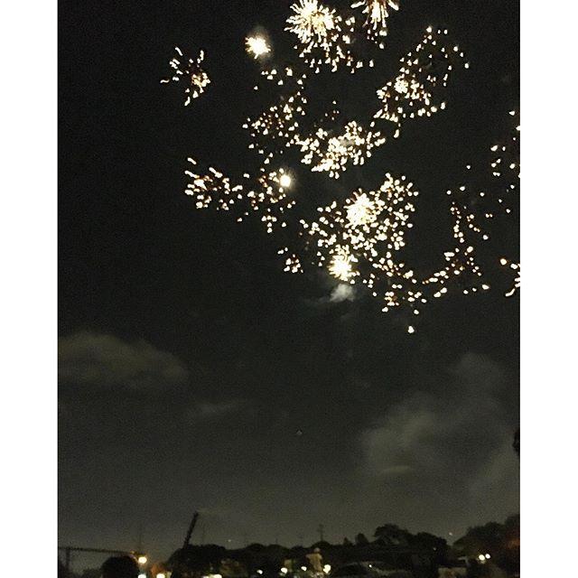My very own #fireworks show!! So pretty!!