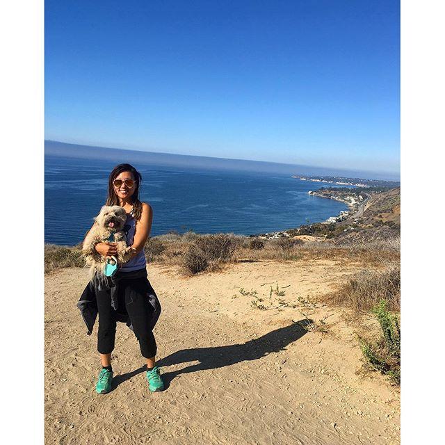 Such a beautiful day in the neighborhood!! #Malibu #pandasadventures ⛰