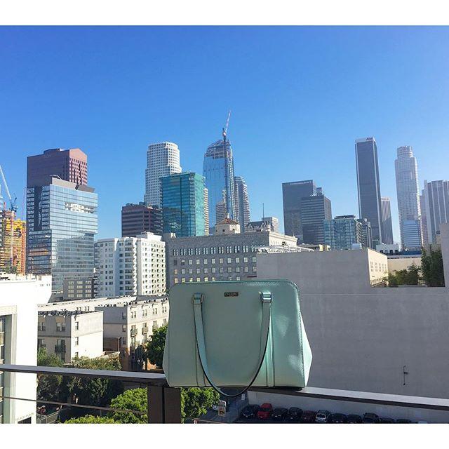 Enjoying the morning view!! Thanks @jinnjuicz 🏙🏼😀