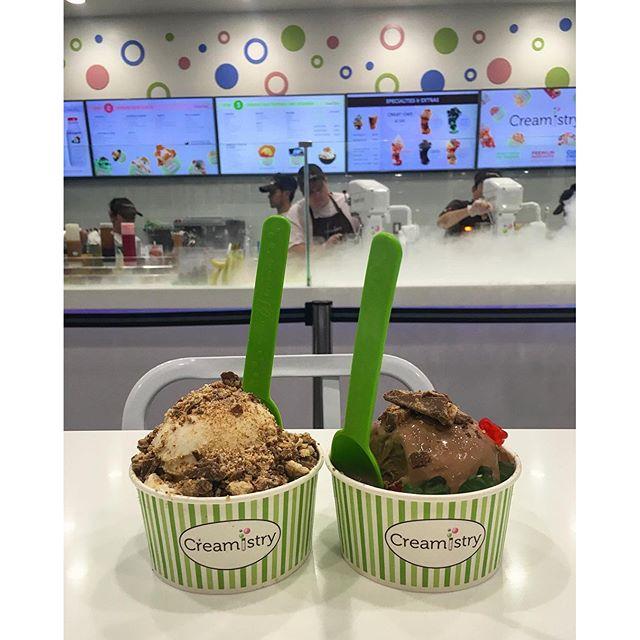 Late night #icecream festivities!!  #foodie @swayray #pandasadventures