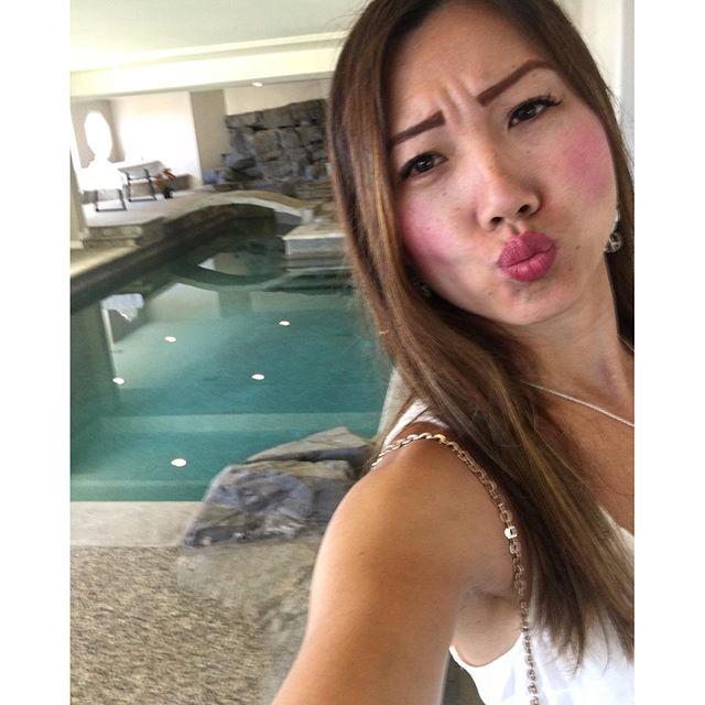 I miss swimming in this pool!! #luxury #paloverdes #pandasadventures