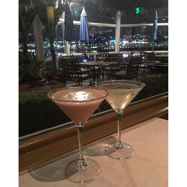 #Cocktails with a view!  #pandasadventures