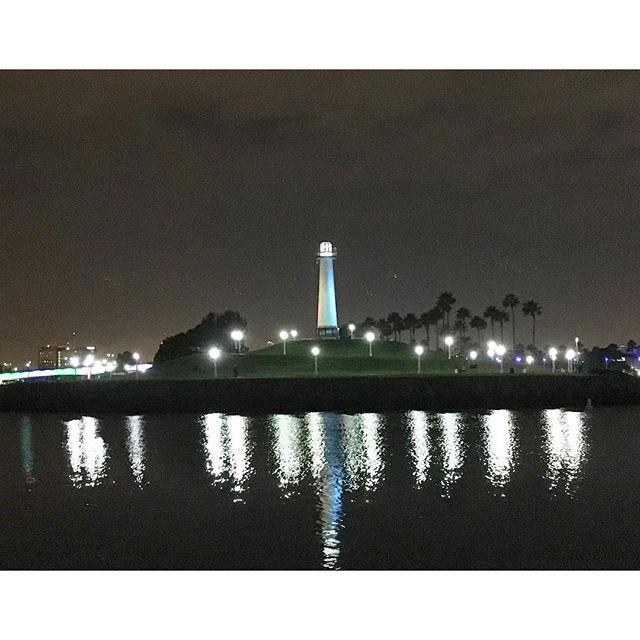 Tonight's city view!  #feelingblessed #longbeach #pandasadventures