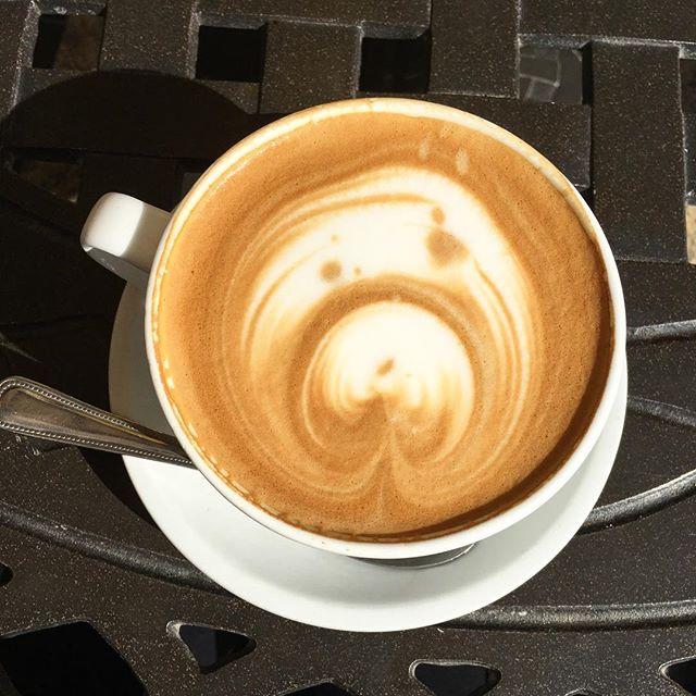 This is a panda latte!  #pandasadventures #foodie ️