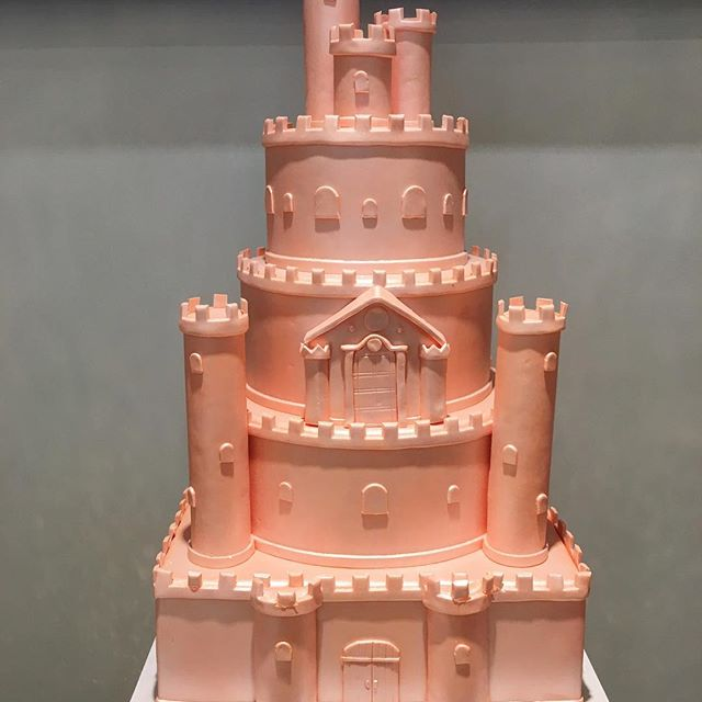 What a beautiful cake! Fit for a princess! 🏽 #pandasadventures