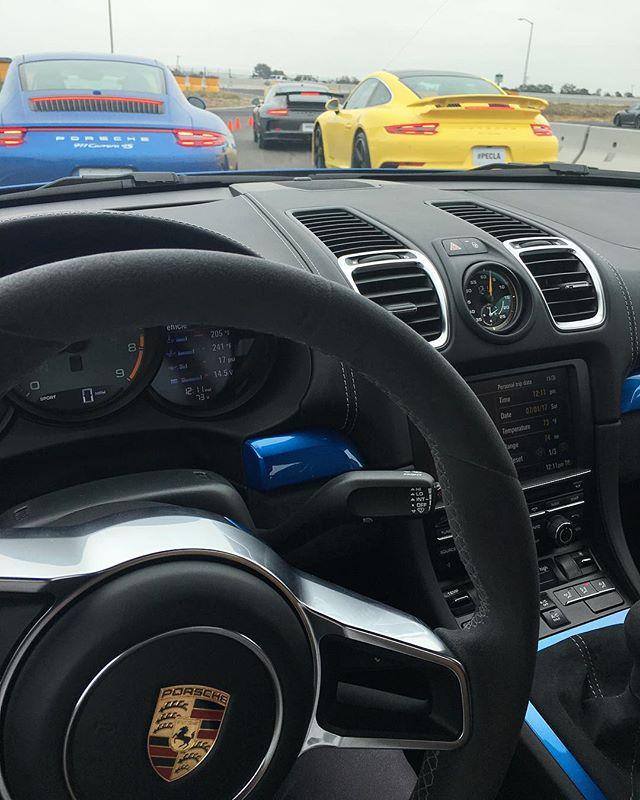 Drifted a Porsche GT4 6 speed manual ️ off the bucket list! #pandasadventures