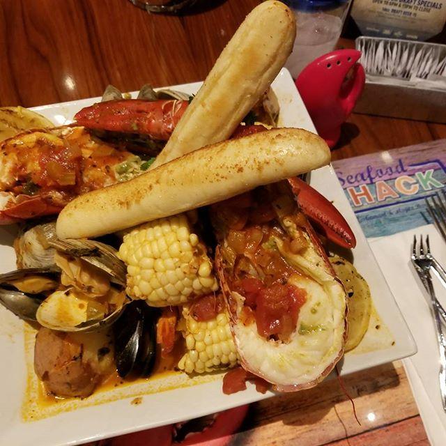 Felt so guilty enjoying this delicious Seafood Shack Seafood Bake! 🤗🦂🦐 #badandbougie #pandasadventures #foodie