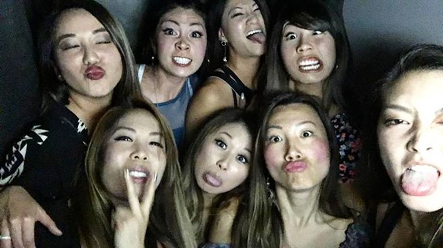 Becausewe are crazy asian women who just wanted to have a good time and be silly. Had to post this pic as the lighting was good. 📸👭 @jeniggobird why are you always doing the most insane poses in all of our pics! @debbiechang201 @helloxtine @joliney @akyin @christinetrannn